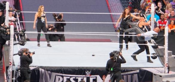 Will Ronda Rousey appear at WrestleMania 34 next year? [Image Credit: Miguel Discart/Flickr]
