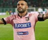 Fabrizio Miccoli con la maglia del Palermo