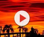 UFO in fiamme precipita dal cielo di Dubai