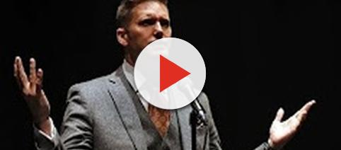 Richard Spencer at Univ. of Florida [Image Source: House of Peasants/YouTube]