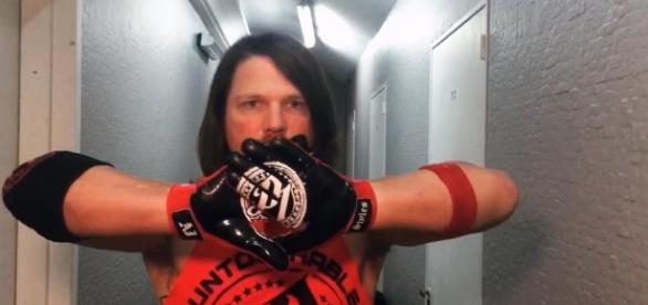 AJ Styles will battle Finn Balor for the first time in their careers at WWE's 'TLC 2017' PPV on Sunday. [Image via WWE/YouTube]