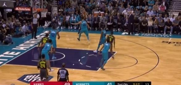 #AtlantaHawks #CharlotteHornets; (Image Credit: Smash NBA/YouTube)