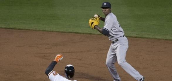 Yankees' Didi Gregorius playing shortstop - Image by Keith Allison via Wikimedia Commons