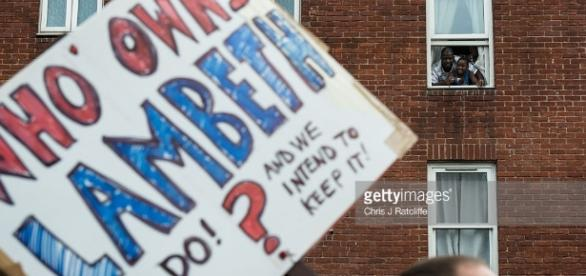 Unions And Momentum Join Forces In Stand Up To Lambeth Council ... - gettyimages.com