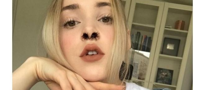 Cílios no nariz: nova moda vira febre na internet. Você usaria?
