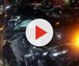 Así quedó el auto del atacante del Guadalajara, Alan Pulido