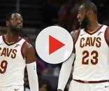 LeBron wants Wade to get going - (Image Credit: YouTube/Cavs)