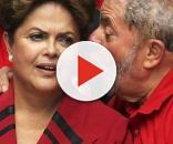 Dilma e Lula em campanha no ano de 2014