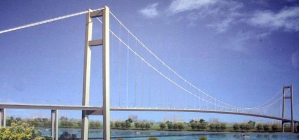 Cât va costa podul suspendat de la Brăila. S-a decis constructorul