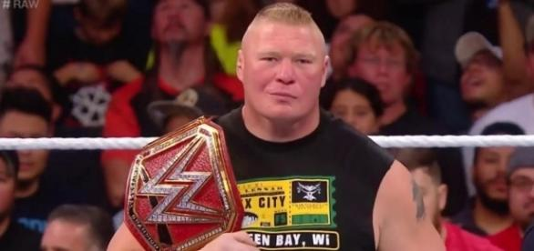 Universal Champion Brock Lesnar (Foto WWE Account ufficiale)