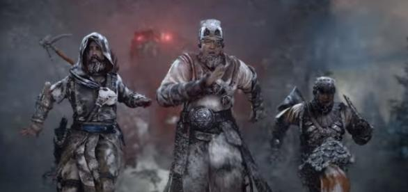 Horizon Zero Dawn: The Frozen Wilds expansion pack coming this November. [Image via YouTube/PlayStation]