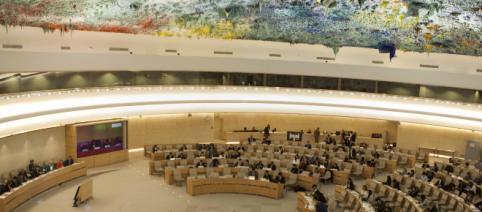 Geneva United Nation human rights council - Photo: Siavosh Hosseini