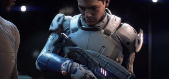 EA's single-player games are dead for now because they are focused on multiplayer gameplay. [Image Credits: Mass Effect/YouTube screencap]