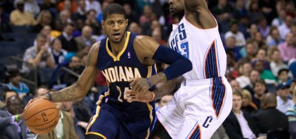 Paul George talks about his thoughts leaving Indiana. (Image Credit - joushuak8/Wikimedia)