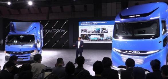 Image result for Daimler AG, E-Fuso Vision One