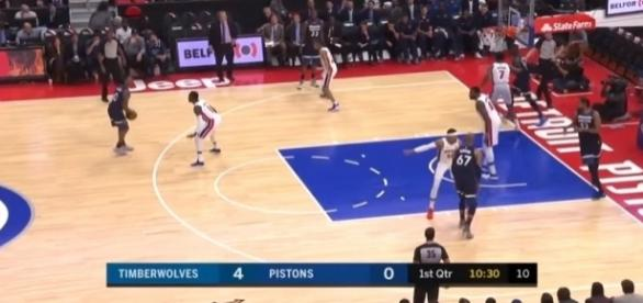 NBA: Pistons cruise past Timberwolves; Lakers edge Wizards Image Credit: Ximo Pierto./Youtube