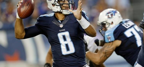 Marcus Mariota of the Tennessee Titans (Image Credit: Inside Sports/Vimeo screencap)