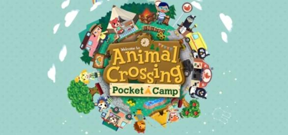 The official logo of Pocket Camp. Image Credit: Youtube/Nintendo mobile