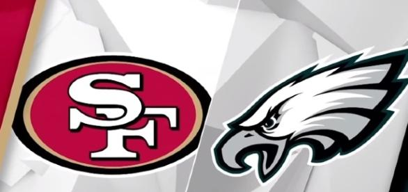 The Philadelphia Eagles take on the San Francisco 49ers in Week 8 NFL action. -- YouTube screen capture / NFL Network