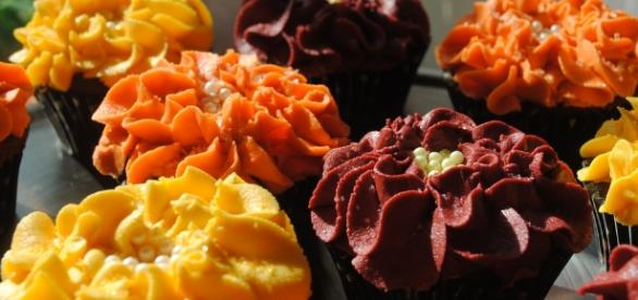 Unique fall cupcakes by DixieBellCupcakeCafe - Flickr