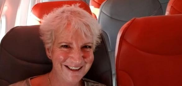 A Scottish woman had a plane all to herself on a flight to Greece [Image credit: Sky News/YouTube]