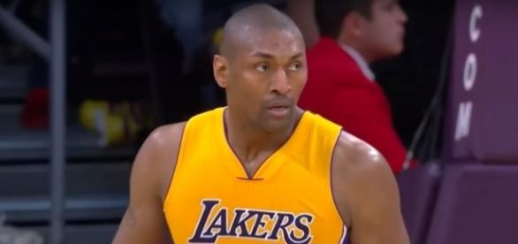 The Big 3 will welcome ex-Los Angeles Lakers big man Metta World Peace -- FreeDawkins via YouTube