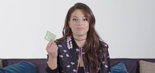 Model and author Ashley Graham takes fans behind the scenes of her new shoot. [Image credit: Allure/YouTube]