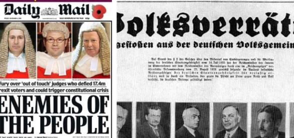 """The Daily Mail, """"enemies of the people"""", and a Nazi newspaper ... - fullfact.org"""