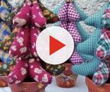 Paso a paso: cómo hacer un abeto navideño de tela