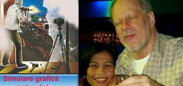 El este atacatorul care a declanșat cel mai grav atac armat în masă din istoria Americii - Foto: Daily Mail (Colaj foto)l