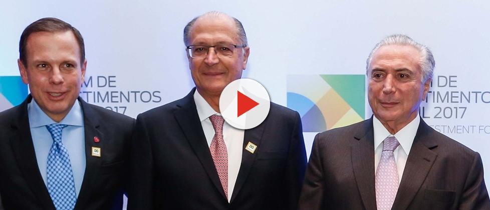 Possível chapa entre Alckmin e Doria é ironizada até dentro do PSDB