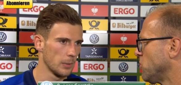 BFC Dynamo 0 - 2 Schalke 04 - LEON GORETZKA - Beitrag Match Interview - Image - GetBigShowTV   YouTube