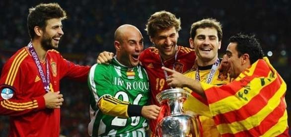 Il difensore della Spagna e del Barcellona, Gerard Piqué