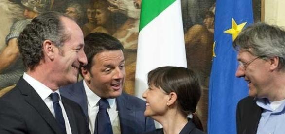 Il governatore del Veneto, Zaia, in un post vertici a Palazzo Chigi