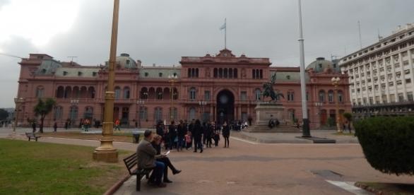 Casa Rosada, Avenida de Mayo, Buenos Aires