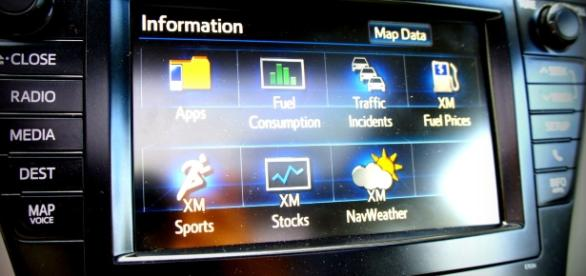 Modern technology in cars could prove to be a dangerous distraction (image via Wikimedia Commons)