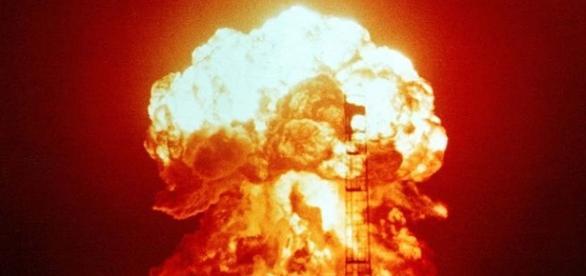 Nuclear explosion [Image via Defense Department]