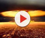 Bombardamento nucleare su una città