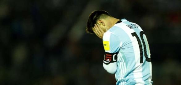 Messi corre o risco de ver a Copa apenas pela TV