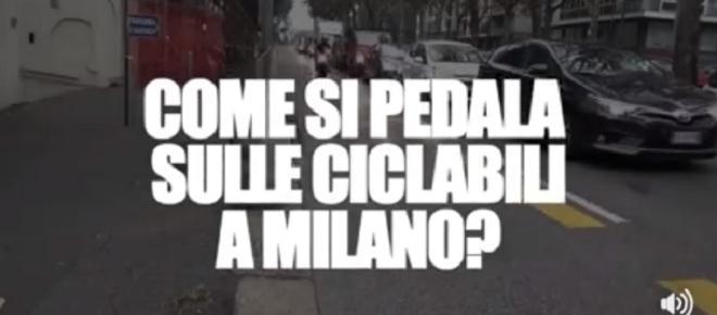 Pedalare a Milano è questione di sopravvivenza, ecco il video denuncia