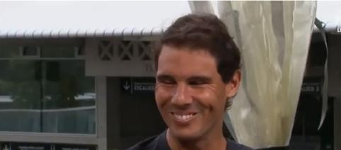 Rafael Nadal Interview for Tennis Channel at RG, - Image Rafa Nadal - King of Tennis| YouTube
