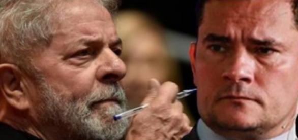Lula tenta derrubar Moro, mas se dá mal