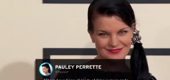 Pauley Perrette is leaving 'NCIS' after the 15th season. -- Youtube screen capture / Entertainment Tonight