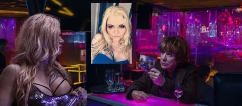 """Jana Wagenhuber (li.) mit Hannelore Hoger in einer Szene von """"Bella Block - Am Abrund"""" / Fotos: Ufa Fiction; privat"""