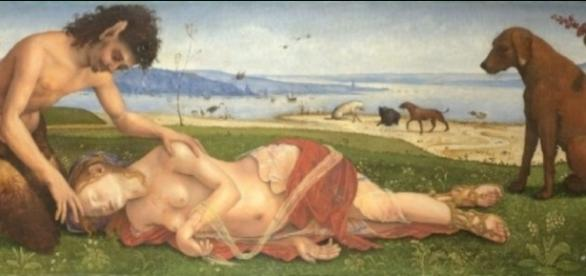 A Satyr Mourning Over a Nymph by Piero di Cosimo FAIR USE commons.wikimedia.org Creative Commons