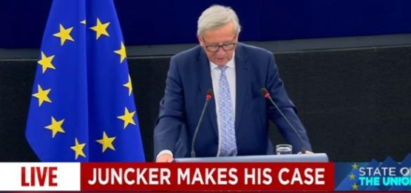 Juncker's State of the Union address -Image - euronews (in English) | YouTube