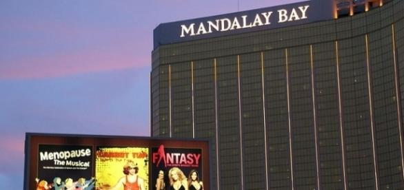Mandalay Bay Hotel in Las Vegas (Image credit Hermann Luyken/Wikimedia Commons]