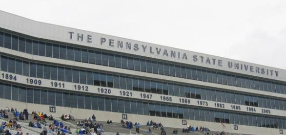 Penn State is the site of a resurgence of football excellence. Image via Billma/Wikimedia Commons