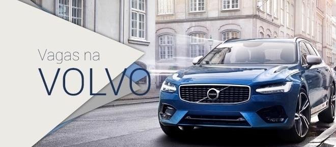 Volvo está contratando no Brasil e no mundo, tendo mais de 700 vagas abertas