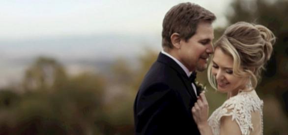 Casamento secreto de Edson Celulari foi na Itália